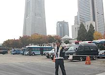 APEC開催に伴う交通誘導をしました!!